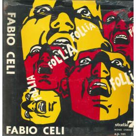 Fabio Celi E Gli Infermieri Lp Follia Gatefold / Studio 7 A.G. 1101 Sigillato