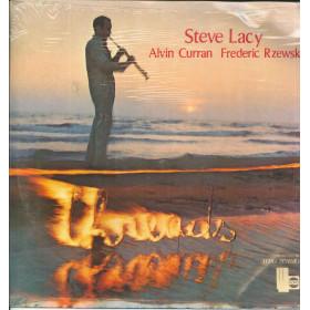 Steve Lacy / Alvin Curran / Frederic Rzewski Lp Threads / Horo HZ 05 Sigillato