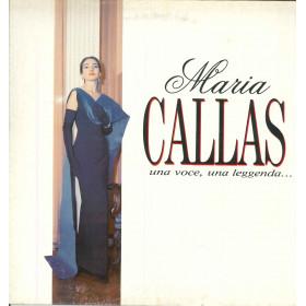 Maria Callas Lp Vinile Una Voce Una Leggenda / Five Records FM 13601 Nuovo