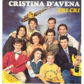 Cristina D'Avena Lp Vinile Cri Cri / Five Records FM 13662 Nuovo