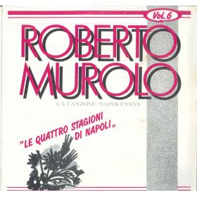 Roberto Murolo Lp La Canzone Napoletana Vol 6 Le Quattro Stagioni Sigillato