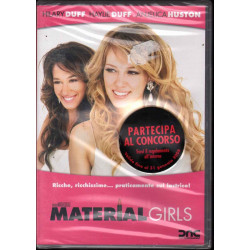 Material Girls DVD Hilary Duff / Anjelica Huston Sigillato 8026120186624