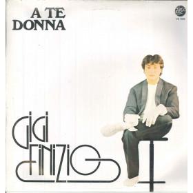 Gigi Finizio Lp Vinile A Te Donna / Visco Disc VS 7056 Sigillato