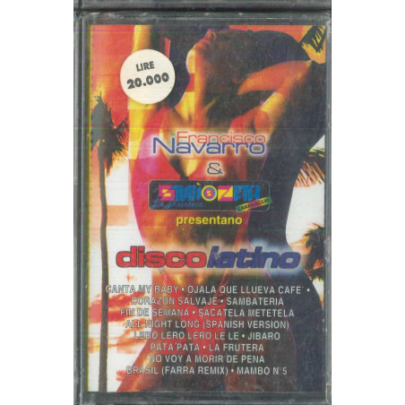 Francisco Navarro ‎‎‎MC7 Disco Latino / DMC 11790 Sigillata 8014961722095