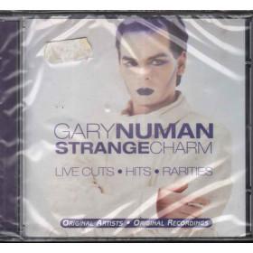 Gary Numan CD Strange Charm - Live Cuts Hits Rarities / Castle Pie Sigillato