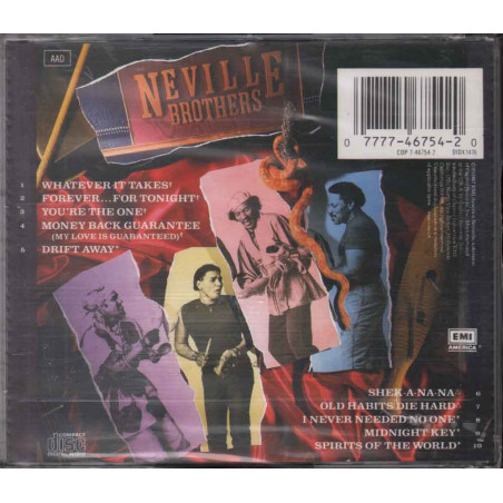 The Neville Brothers CD Uptown - CDP 7467542 Nuovo Sigillato 0077774675420