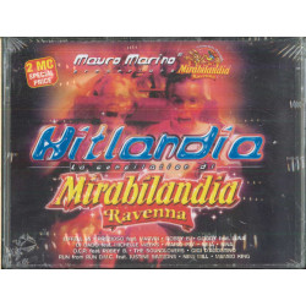 AA.VV 2x MC7 Hitlandia La Compilation Di Mirabilandia / Sigillata 8014961722118