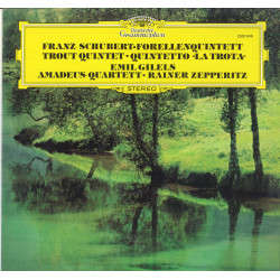 Schubert / Emil Gilels / Zepperitz Lp Forellenquintett Quintetto La Trota Nuovo