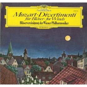 Mozart Blaservereinigung Wiener Philharmoniker Lp Divertimenti Fur Blaser Nuovo