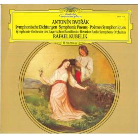 Antonin Dvorak / Rafael Kubelik Lp Vinile Symphonische Dichtungen Nuovo