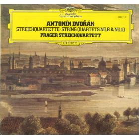 Dvorak / Prager Streichquartett Lp Streichquartette No 8 & No 10 Deutsche Nuovo