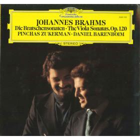 Brahms Zukerman Barenboim Lp Die Bratschensonaten The Viola Sonatas Op120 Nuovo