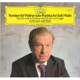 Bach / Milstein LP Partiten Fur Violine Solo No 2 D-moll • No 3 E-dur Nuovo
