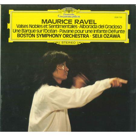 Ravel Boston Symphony Seiji Ozawa Lp Valses Nobles Et Sentimentales Nuovo