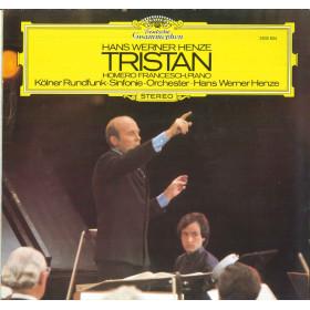 Hans Werner Henze Francesch Kolner Rundfunk Lp Vinile Tristan Deutsche Nuovo DG