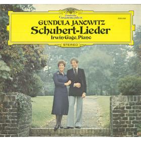 Schubert / Gundula Janowitz / Irwin Gage Lp Vinile Lieder / Deutsche Nuovo DG