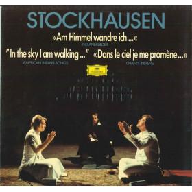 Stockhausen Lp Vinile Am Himmel Wandre Ich Indianerliede / Deutsche Nuovo