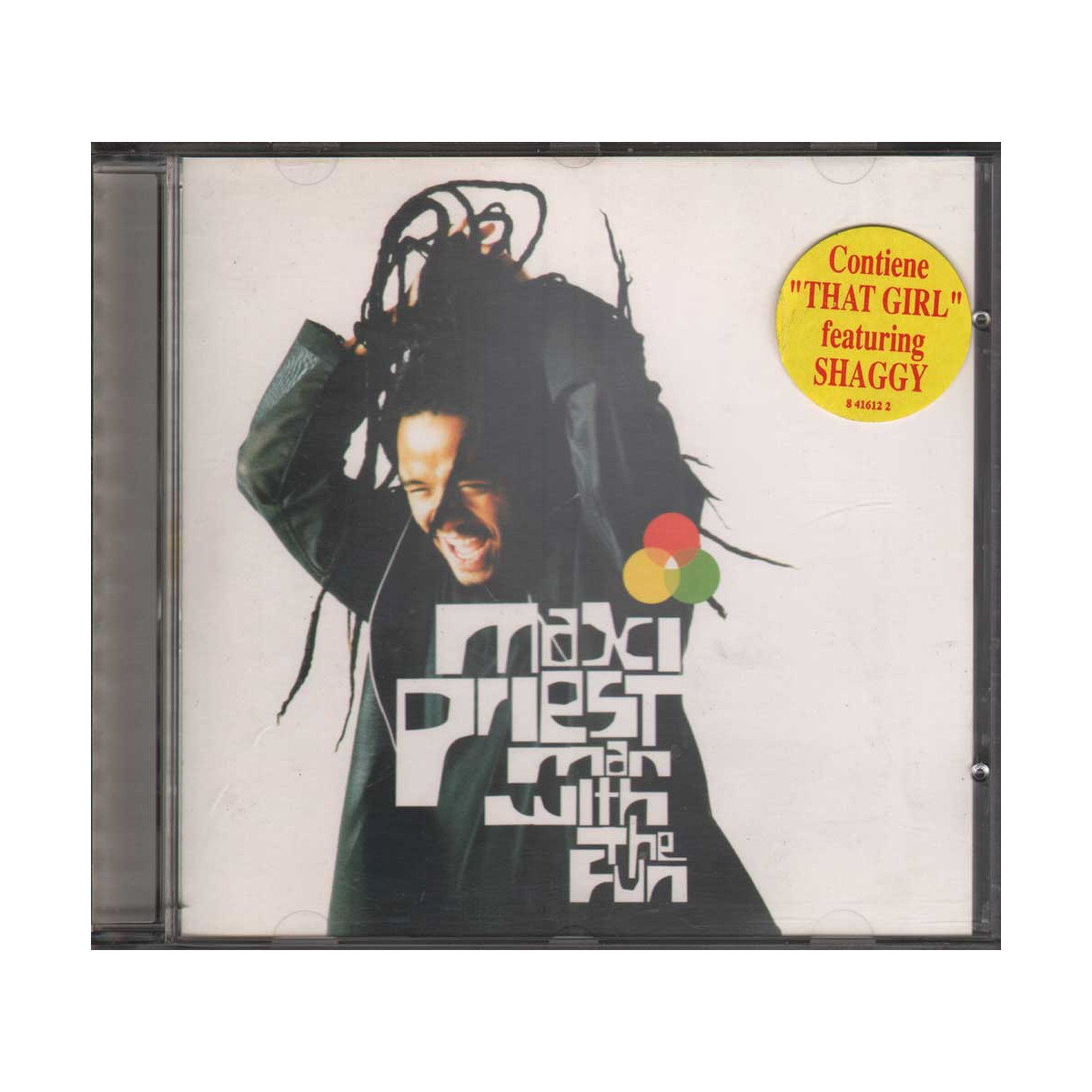 Maxi Priest CD Man With The Fun Nuovo 0724384161224