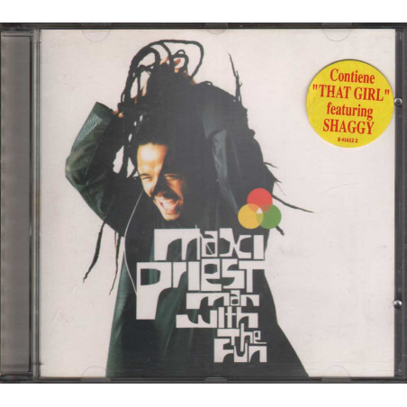 Maxi Priest CD Man With The Fun / Virgin Timbro SIAE Secco Nuovo 0724384161224