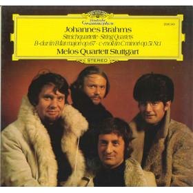 Brahms Melos Quartett Stuttgart Lp Streichquartette String Quartets DG Nuovo
