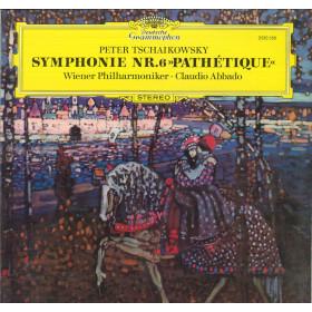 Tschaikowsky Wiener Philharmoniker Abbado Lp Symphonie Nr 6 Pathetique Nuovo DG