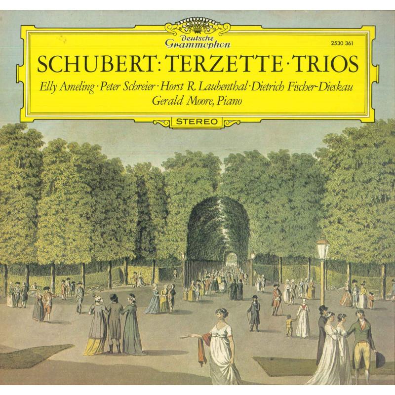Schubert Elly Ameling Peter Schreier Gerald Moore Lp Terzette Trios Nuovo DG
