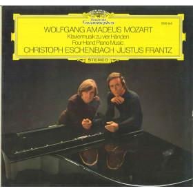 Mozart Eschenbach Frantz Lp Klaviermusik Zu Vier Handen Four Hand Nuovo DG