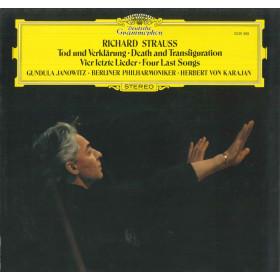 Strauss / Berliner Philharmoniker von Karajan Lp Tod Und Verklarung Nuovo DG