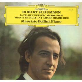 Pollini / Schumann Lp Fantasie C-Dur Op 17 Sonate Fis-Moll Op 11 Nuovo DG