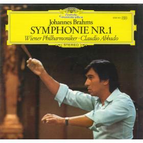 Johannes Brahms Claudio Abbado Wiener Philharmoniker Lp Symphonie Nr 1 Nuovo DG