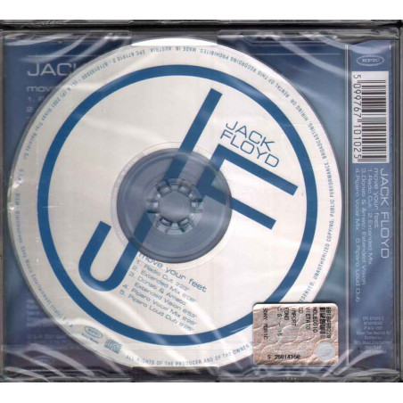 Jack Floyd  CD'S Move Your Feet Nuovo Sigillato 5099767101025