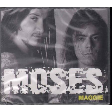 Moses CD'S Singolo Maggie / Musiche Solari Sigillato 5099767095621