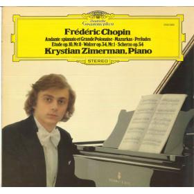 Frederic Chopin - Krystian Zimerman Lp Vinile Klavierwerke / Deutsche Nuovo DG