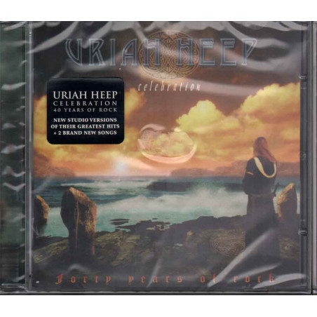 Uriah Heep  CD Celebration - Forty Years Of Rock Nuovo Sigillato 4029758989227