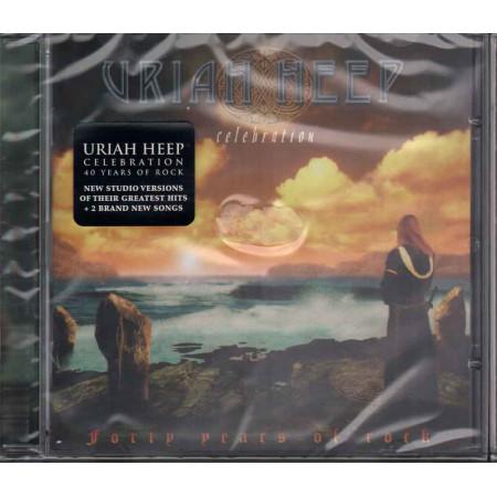 Uriah Heep CD Celebration - Forty Years Of Rock / Edel Sigillato 4029758989227
