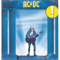 AC/DC Lp 33giri Who Made Who Nuovo Sigillato 0075678165016