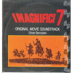 Bernstein ‎Lp Vinile Magnifici 7 / Return Of The Seven Liberty Talent Sigillato