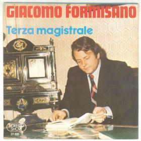 """Giacomo Formisano Vinile 7"""" 45 giri Terza Magistrale / 'A Festa D''A Mamma Nuovo"""