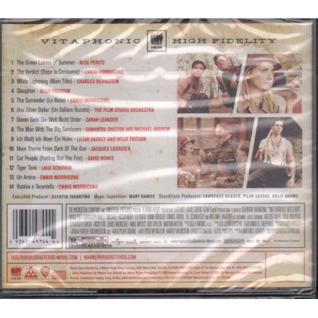 AA.VV. CD Quentin Tarantino's Inglourious Basterds Motion Picture Soundtrack Sig