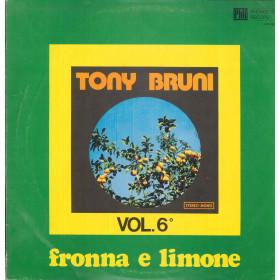 Tony Bruni Lp Vinile Tony Bruni Vol 6 / Phonotype AZQ40028 Nuovo