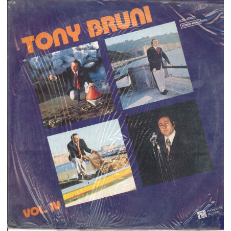 Tony Bruni Lp Vinile Tony Bruni Vol IV 4 / Phonotype AZQ 40026 Nuovo