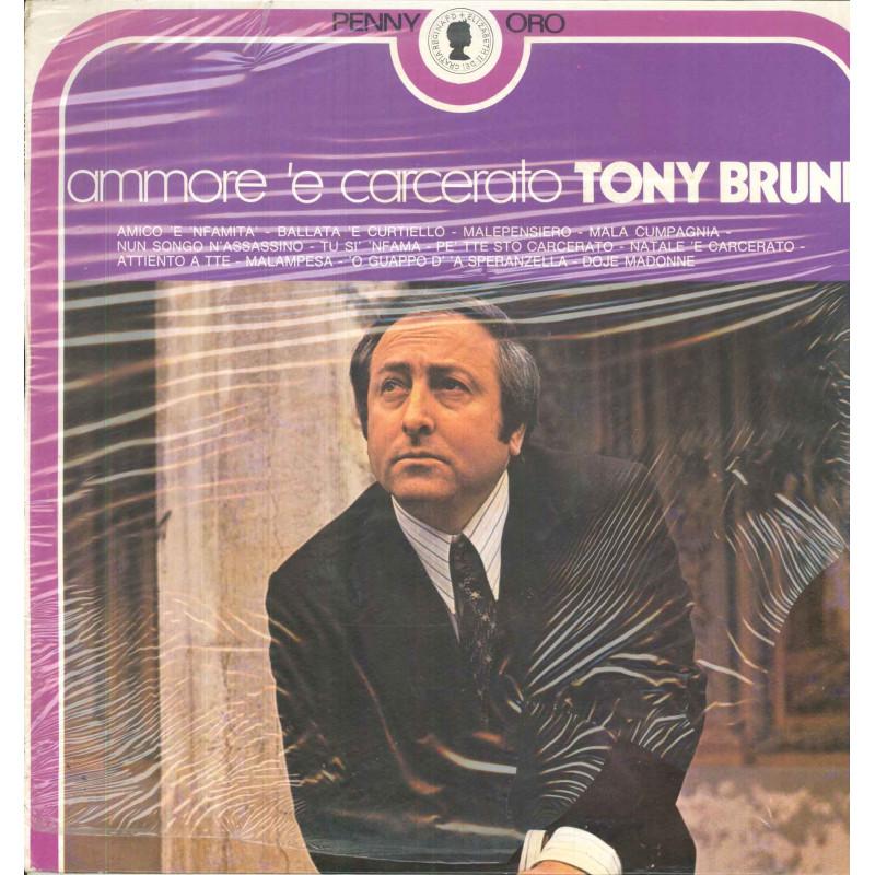 Tony Bruni Lp Vinile Ammore 'E Carcerato / RIFI Penny Oro RPO ST 72026 Nuovo