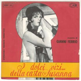 """Gianni Ferrio Vinile 7"""" 45 giri I Dolci Vizi...Della Casta Susanna - Nuovo"""
