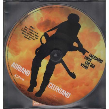 Adriano Celentano Lp Picture Disc Facciamo Finta Che Sia Vero Nuovo