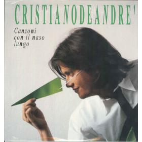 Cristiano De Andre' Lp Vinile Canzoni Con Il Naso Lungo / WEA Sigillato