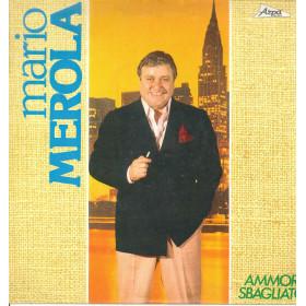 Mario Merola Lp Vinile Ammore Sbagliato / Arpa Record BL 75937 Nuovo