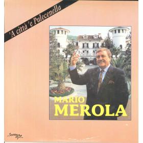 Mario Merola Lp Vinile 'A Citta' 'E Pulecenella / Mea Sound VLP 726 Nuovo