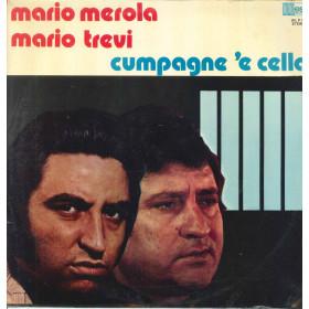 Mario Merola Mario Trevi Lp Vinile Cumpagne 'e Cella / West  WLP 104 Nuovo