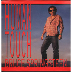 """Bruce Springsteen Vinile 7"""" 45 giri Human Touch / Columbia 657872 7 Nuovo"""