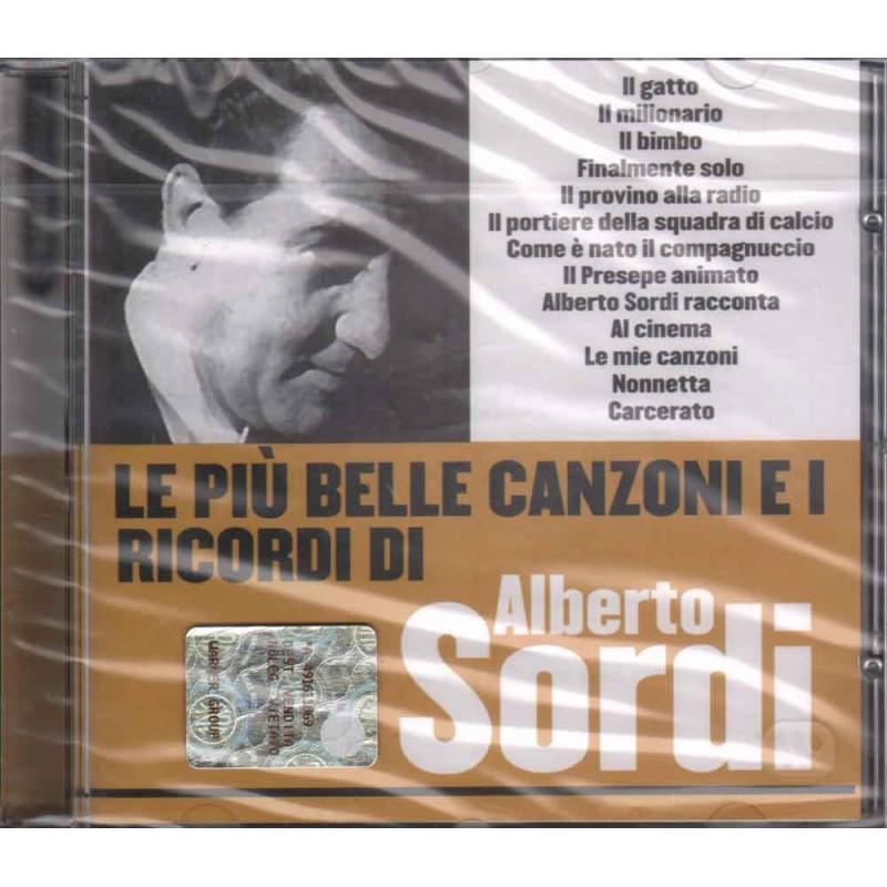 Alberto Sordi  CD Le Piu' Belle Canzoni Di Nuovo Sigillato 5050467973527